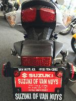 Suzuki of Van Nuys Motorcycle License Plate Photo