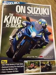 The cover of On Suzuki Magazine that features Suzuki of Van Nuys